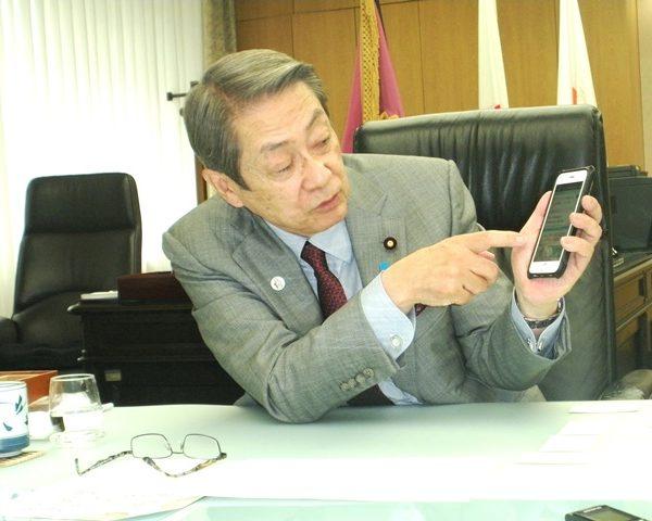 多言語音声翻訳アプリ「ボイストラ」石田総務大臣が称賛