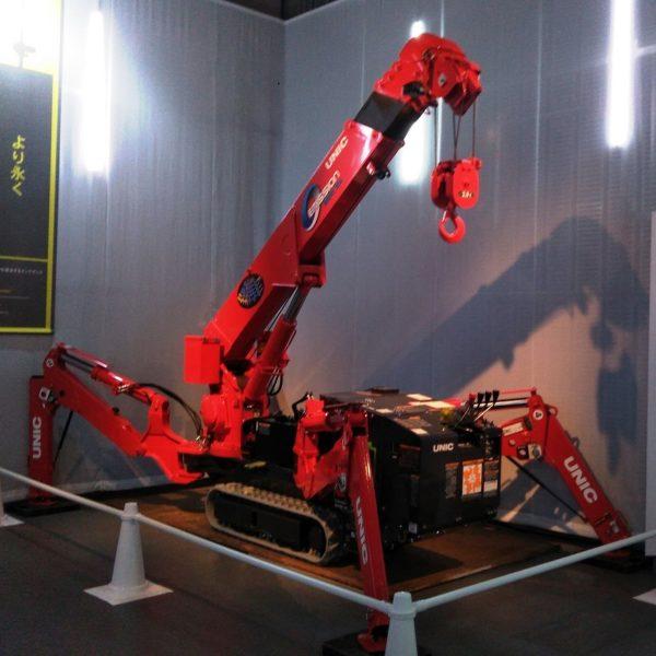 「工事現場の重機集結」科学未来館で企画展