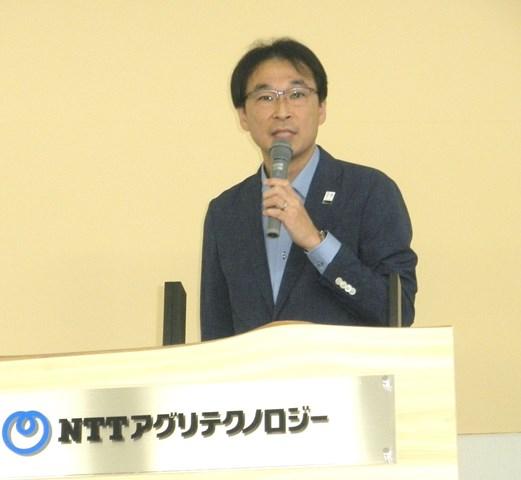 NTTグループで初、農業×ICTの専業会社