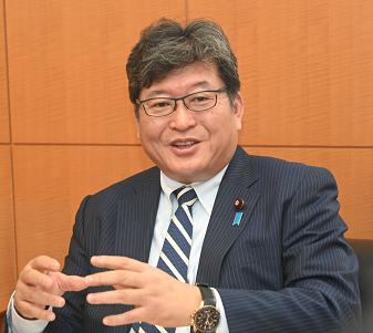第4次安倍再改造内閣 萩生田文科相インタビュー